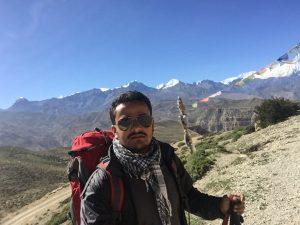 Sujan Pandey Exploring Nepal